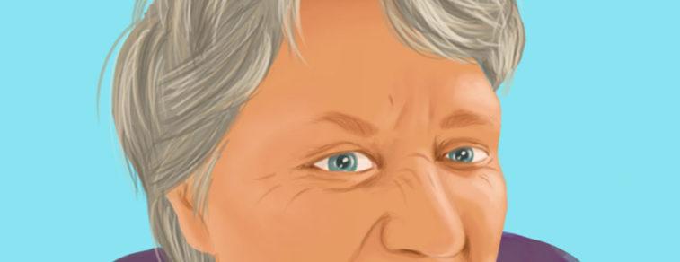 Illustratief portret van Ida de Groot
