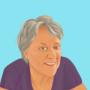 Illustratief portret Ida de Groot