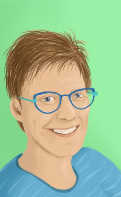 Portrait of Sjoukje Langelaar by Marieke Noordhuis