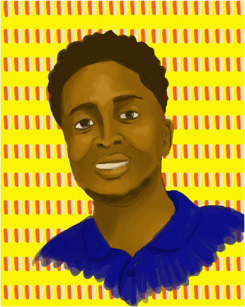 Illustration of Kofi