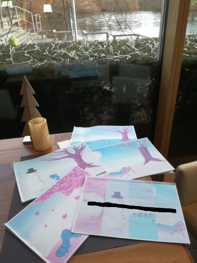 Christmas vacations illustrations Marieke Noordhuis