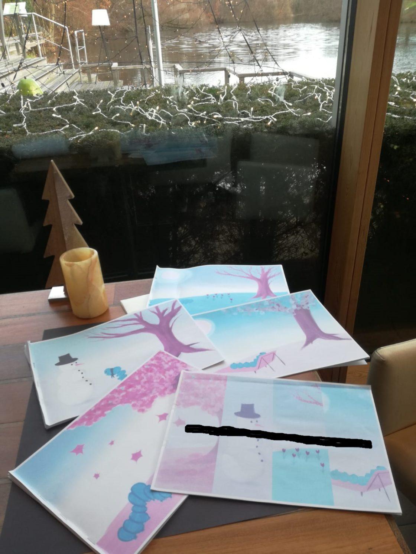 Kerstvakantie illustraties Marieke Noordhuis