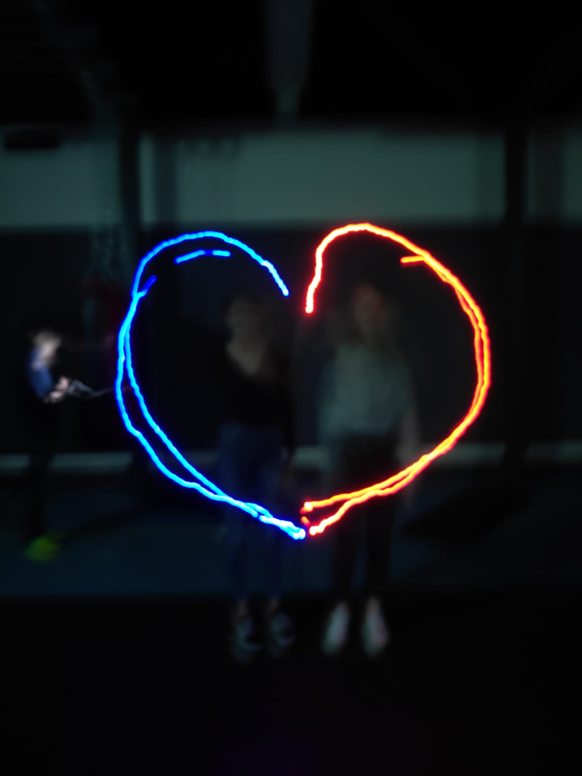 light graffiti heart 2