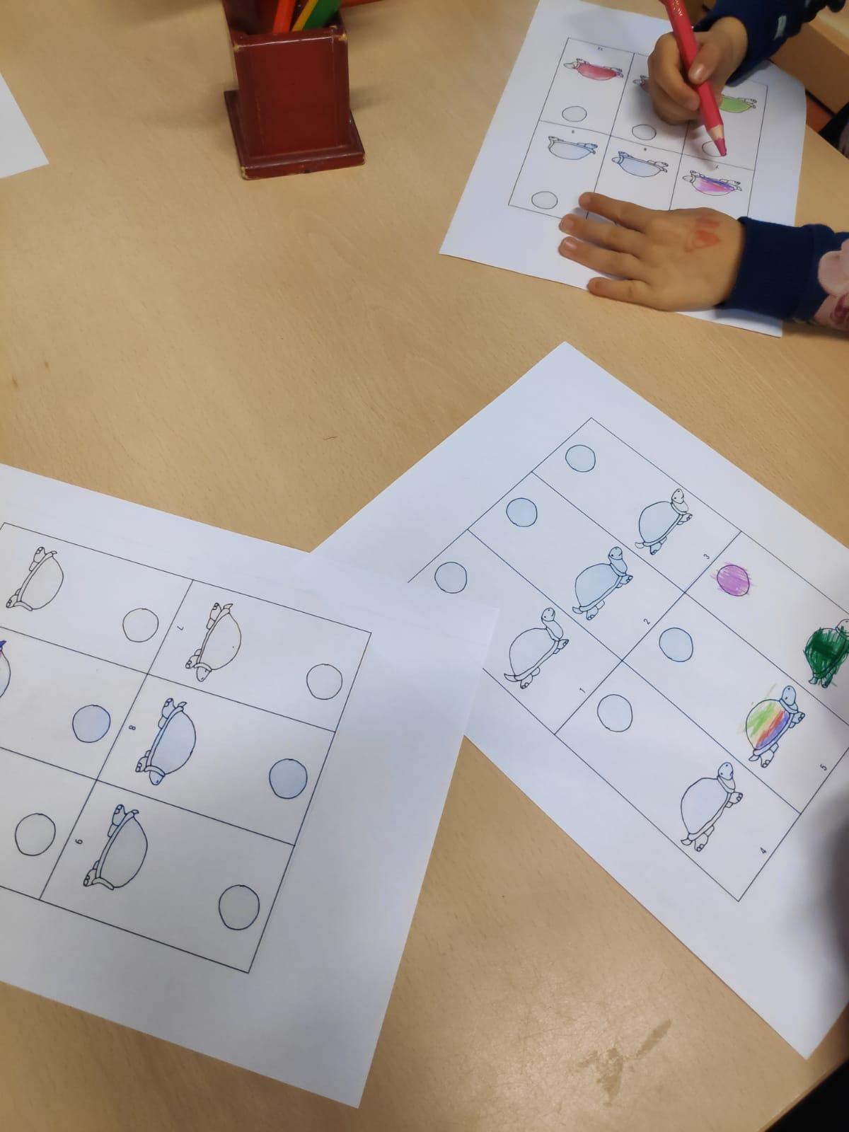 Workshop Islamitische school - kinderen aan het werk