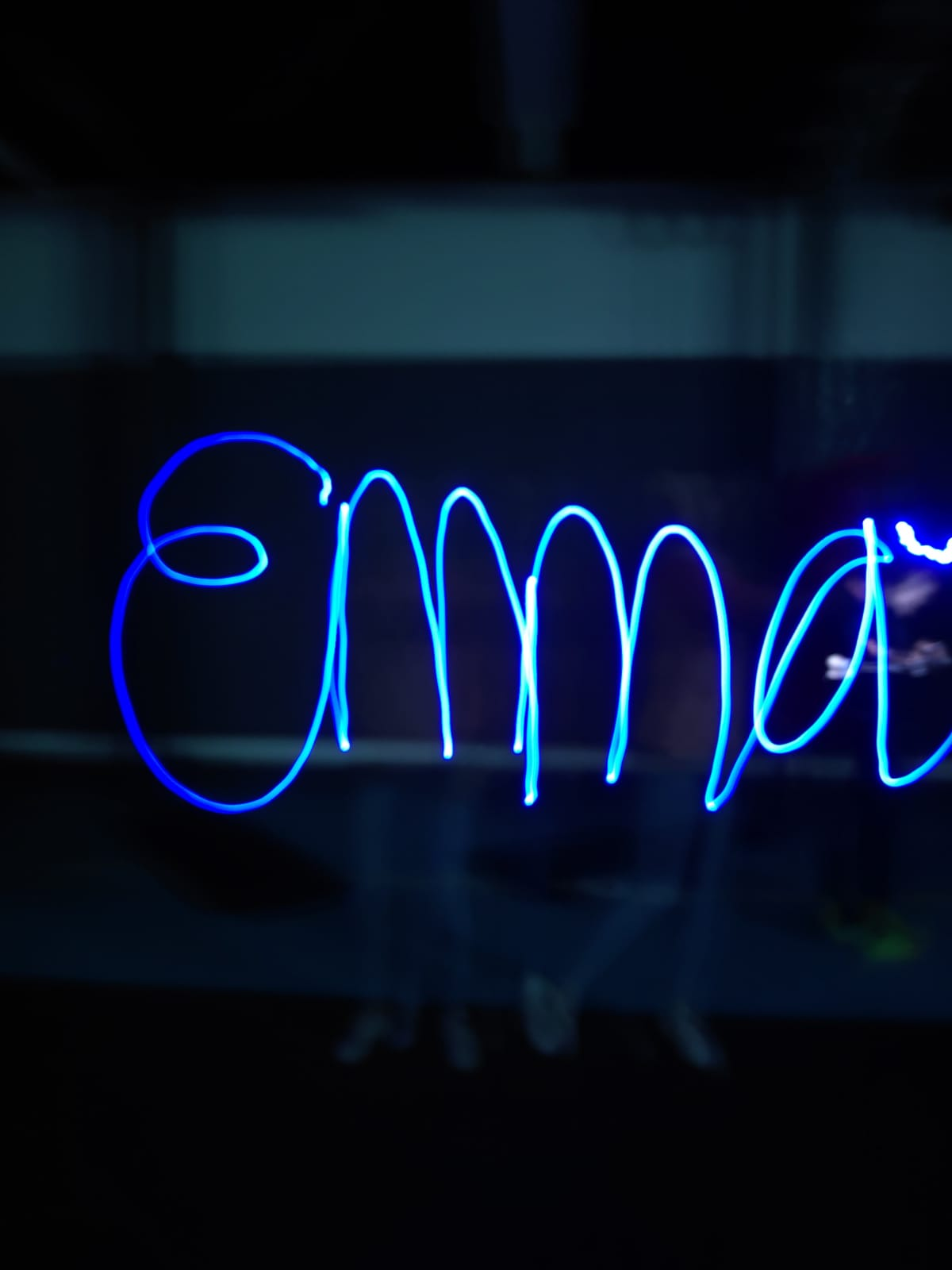 light graffiti emma