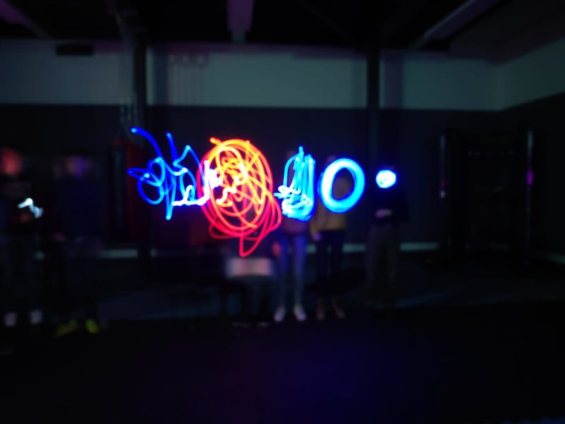 light graffiti groep 1