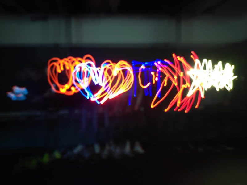 light graffiti groep 2
