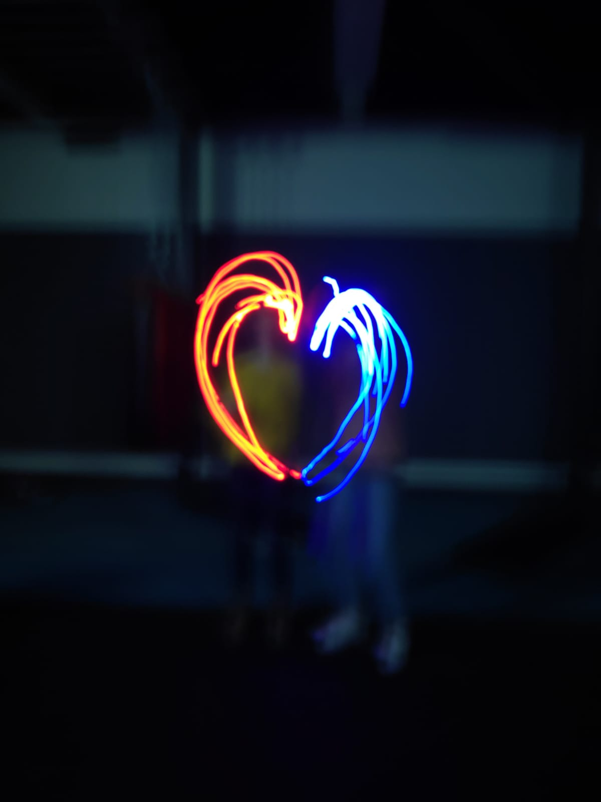 light graffiti heart 1