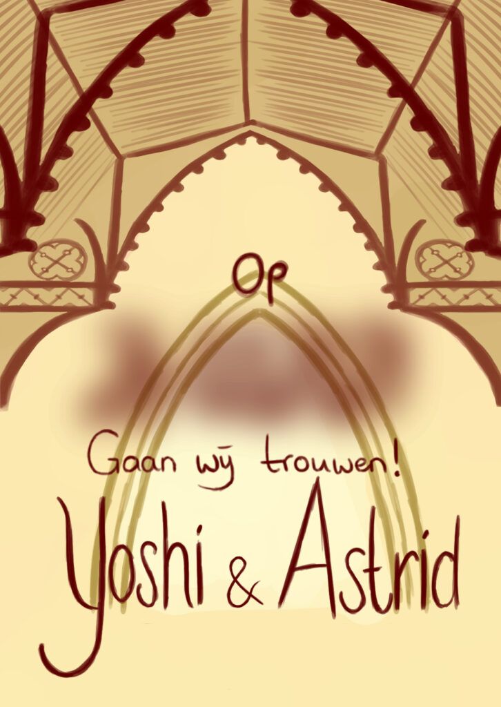 Save the date Yoshi Astrid
